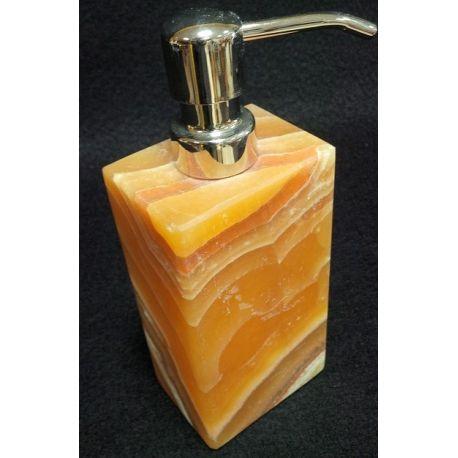 Distributeurs de crème en onyx or  13 x 7 cm
