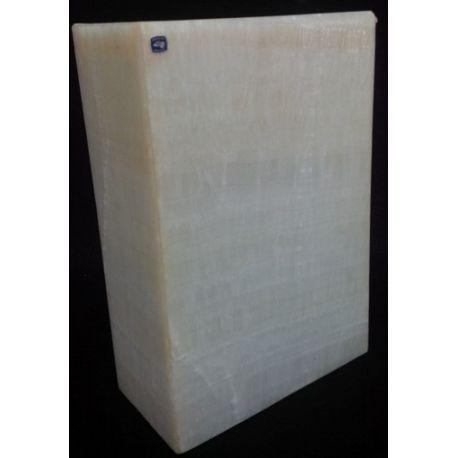 Applique en Onyx Blanc 30X20X10 cm