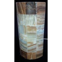 Applique en forme de canne à sucre en onyx 30X16X8 cm
