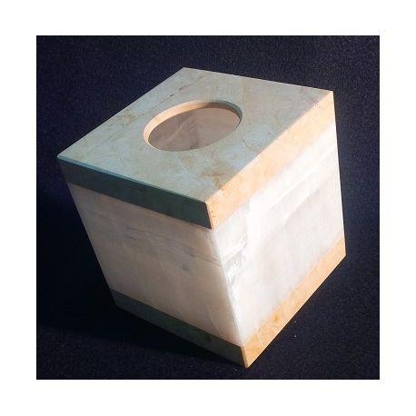 Présentoir pour boites de mouchoirs carrés